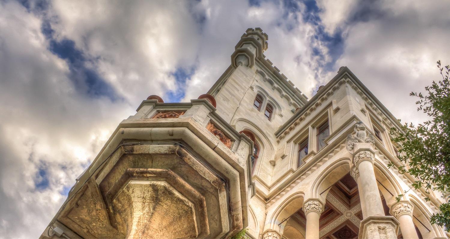 Miramare, historic Italian castle overlooking the sea in Trieste - Homebanner