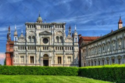 The Certosa di Pavia, one of the finest examples of Lombard renaissance