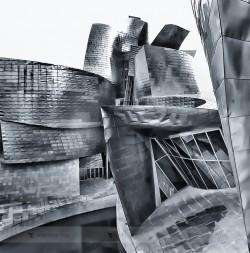 The dancing walls of the Guggenheim Museum in Bilbao