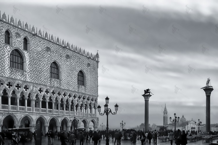 Piazza San Marco, symbol of romanticism, a place where beauty, love, and melancholy play together in a timeless chase to perfection