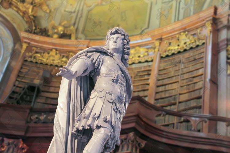 Charles VI National Library Hofburg Palace