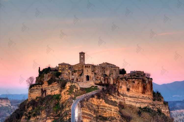 Civita di Bagnoregio, the dying city