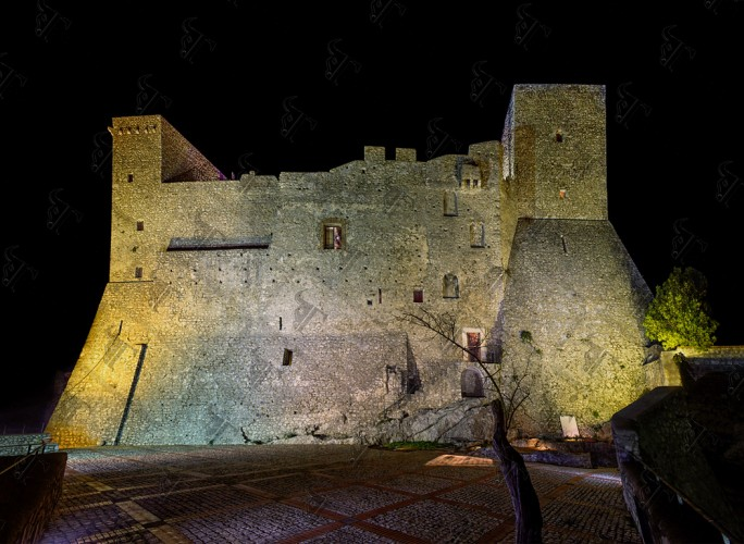 The magnificent Medieval castle in Itri.